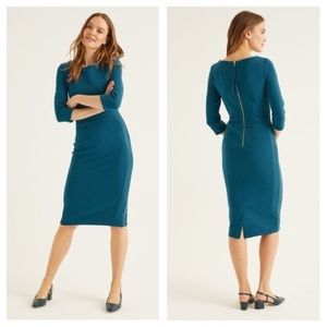 BODEN Leah Dress in Baltic NWT